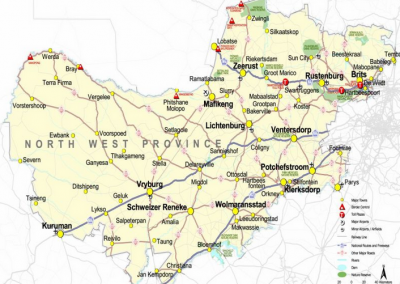 North-West Province Freight Transport Strategy Passenger & Freight Rail Plan