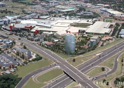 Menlyn Park Extension, Pretoria ±130 000m² GLA