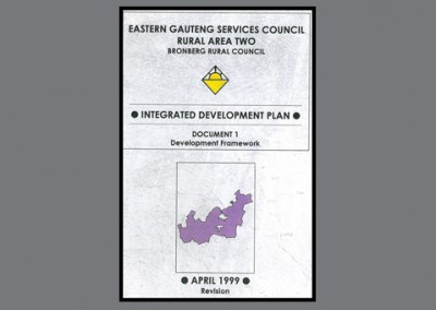 Eastern Gauteng Services Council rural Area Two, April 1999