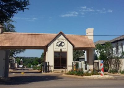 Zwartkop Golf Estate Housing Project